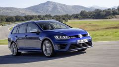 VW Golf Variant: una station, tre anime - Immagine: 4