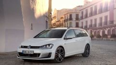 VW Golf Variant: una station, tre anime - Immagine: 70