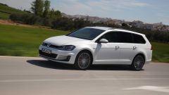 VW Golf Variant: una station, tre anime - Immagine: 46