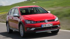VW Golf Variant: una station, tre anime - Immagine: 7