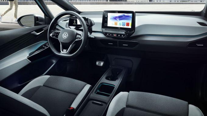 VW ID.3 2020: l'abitacolo ad alto contenuto tecnologico
