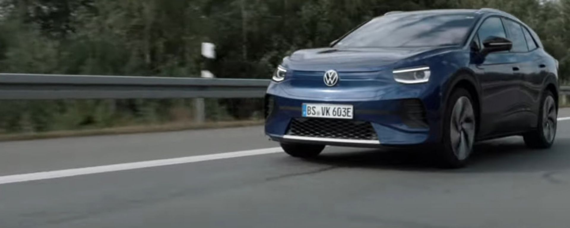 VW ID.4, un fotogramma dell'ultimo video teaser