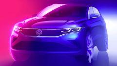 VW Tiguan prima immagine ufficiale