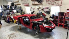 W Motorsports: la Lykan Hypersport replica in fase di assemblamento