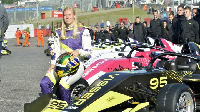 W-Series 2019, Brands Hatch: Beitske Visser