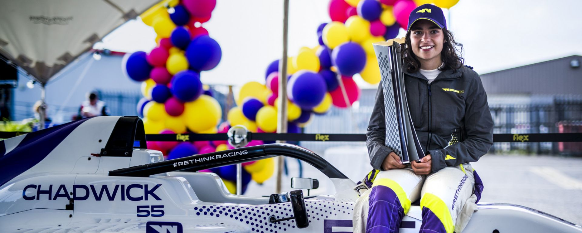 W-Series 2019, Brands Hatch: Jamie Chadwick festeggia la vittoria