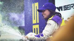 W-Series 2019, Brands Hatch: Jamie Chadwick sul podio per le celebrazioni finali