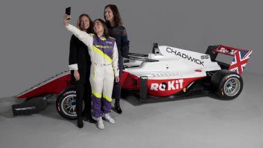 W-Series 2020: la presentazione della nuova sponsorizzazione ROKiT
