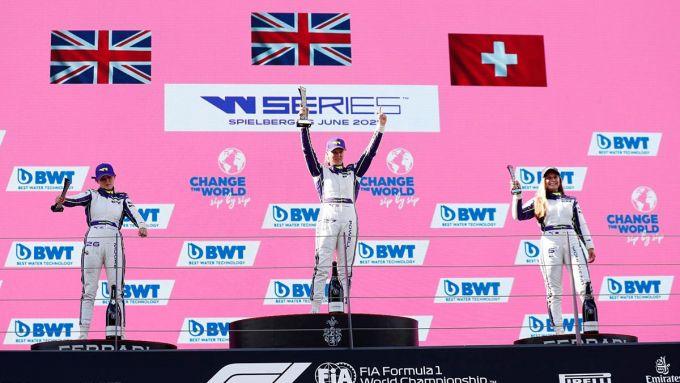 W Series 2021: podio Austria-1