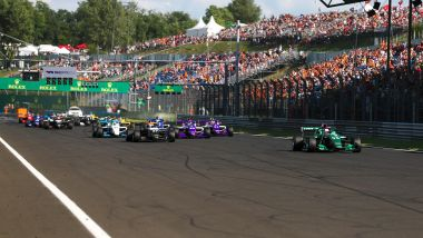 W Series 2021, Race Start