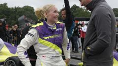 W-Series, Emma Kimilainen in testa nelle FP1 a Brands Hatch - Immagine: 1
