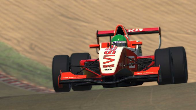 W-Series eSport 2020, Brands Hatch: Beitske Wisser