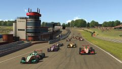 W-Series eSport 2020, Brands Hatch: la partenza di Gara-1