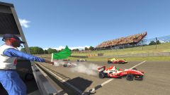 W-Series eSport 2020, Brands Hatch: la partenza di gara-3