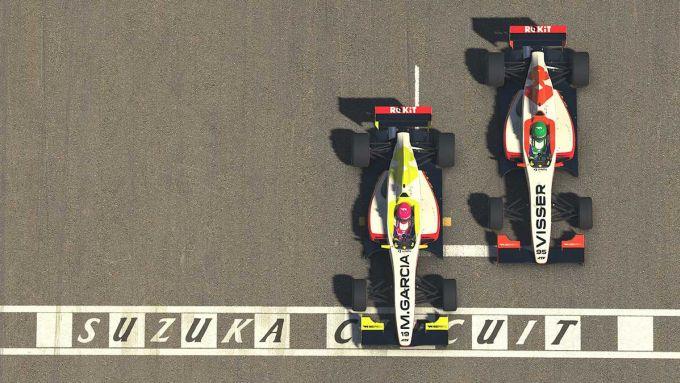 W Series Esports, Suzuka, arrivo al fotofinish tra Marta Garcia e Beitske Visser in gara 1