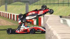 W Series Esports, Suzuka, incidente di Beitske Visser in gara 2