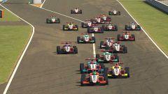 W Series Esports, Suzuka, partenza di gara 3