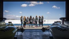 W-Series, le ragazze impegnate lo scorso anno nel test di Almeria