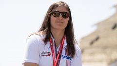 W-Series, c'è Tatiana Calderon ai test di Almeria