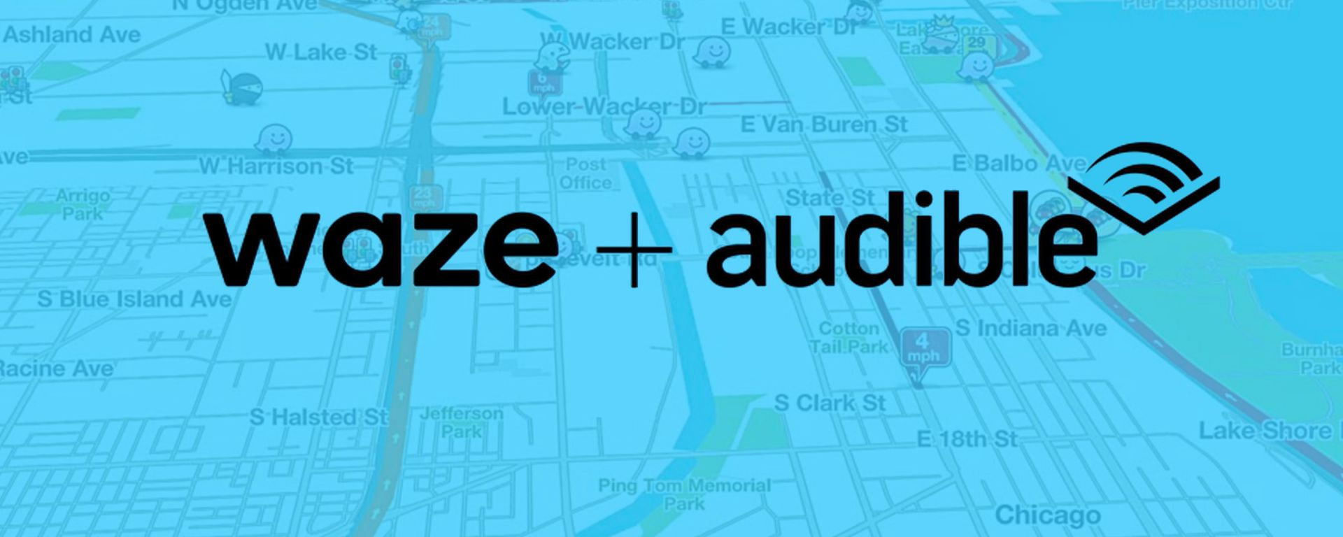 Waze + Audible: la partnership