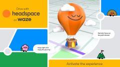 Waze e Headspace: mindfulness sull'app di navigazione