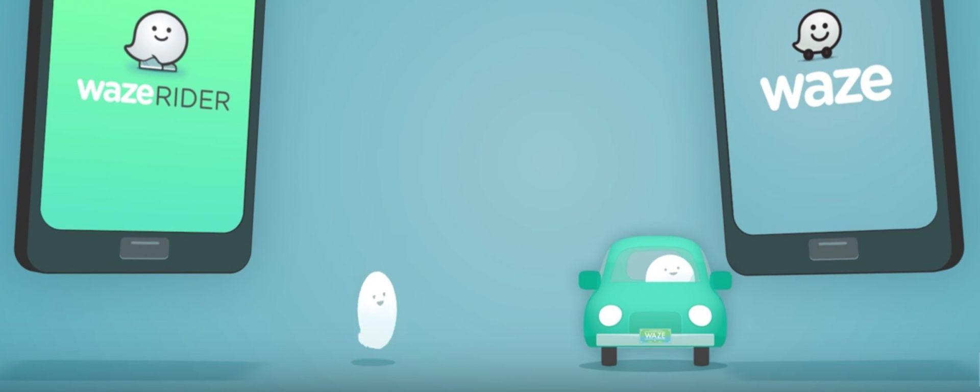 Waze Rider: Google lancia il ride sharing anti Uber
