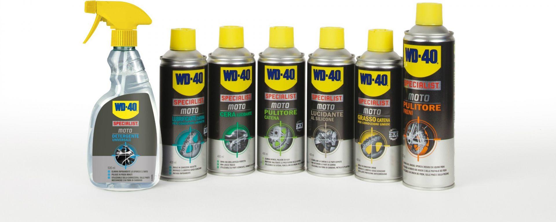 wd40 moto  WD-40 Specialist Moto: 7 prodotti per pulire e proteggere la tua ...