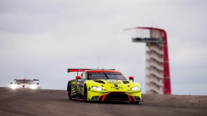 Wec 2019-2020, Lone Star Le Mans: l'Aston Martin Vantage #95 di Sorensen e Thiim