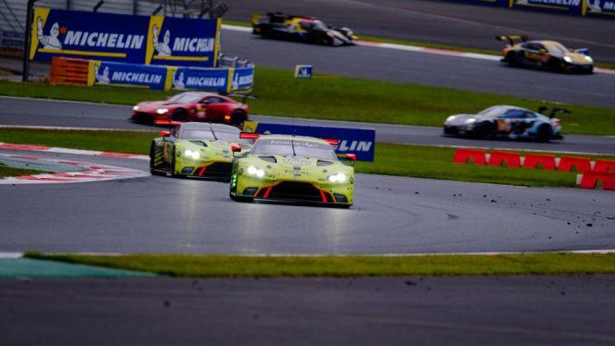 WEC 2019/2020: le Aston Martin impegnate al Fuji