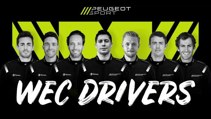 Wec 2022, i piloti Peugeot Sport per il mondiale endurance