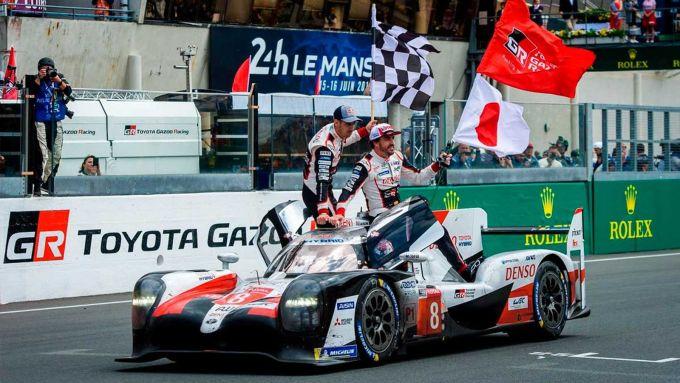 WEC, 24 ore di Le Mans 2019, Fernando Alonso (Toyota)