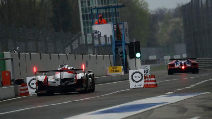 Wec, immagini dal prologo di Monza del 2017