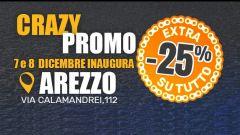 Wheelup Arezzo: la locandina degli sconti per l'inaugurazione