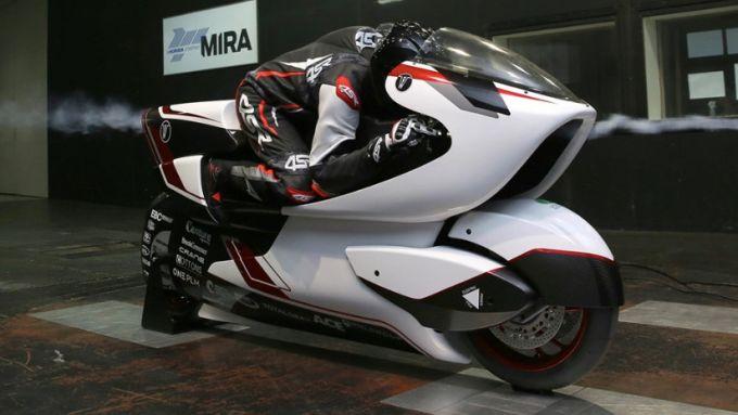 White Motorcycle Concepts: la WMC250EV