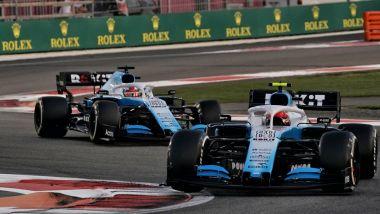 Williams 2019, Robert Kubica vs George Russell