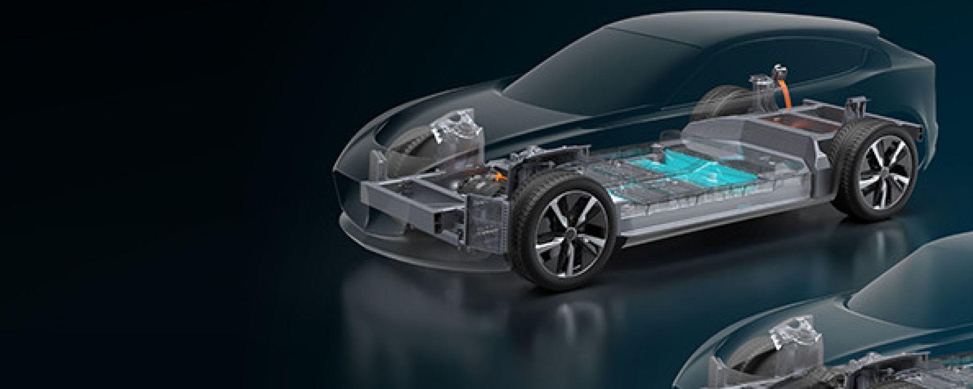 Williams EVX, prende forma il pianale del futuro SUV elettrico