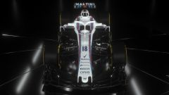 Williams FW41 2018, vista frontale