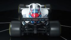 Williams FW41 2018, vista posteriore