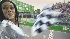 Winnie Harlow, la modella sventola la bandiera a scacchi un giro prima, ma non è colpa sua - Immagine: 2
