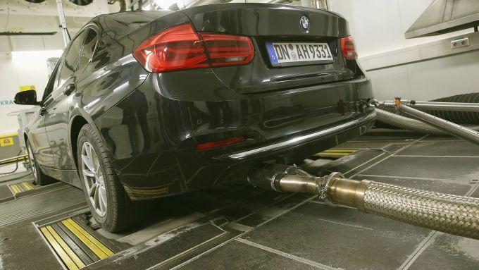 WLTP vs NEDC: i test WLTP su una BMW