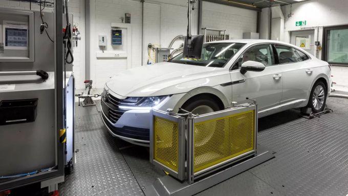 WLTP vs NEDC: i test WLTP su una Volkswagen Arteon