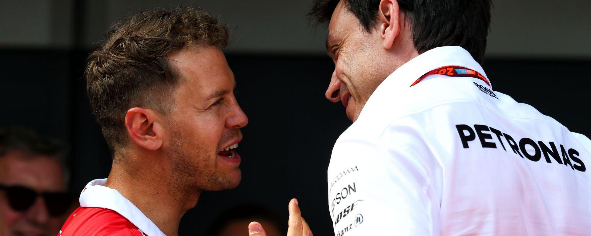 """Wolff scommette su Vettel: """"Rivedremo il Seb dei primi anni in Ferrari"""""""
