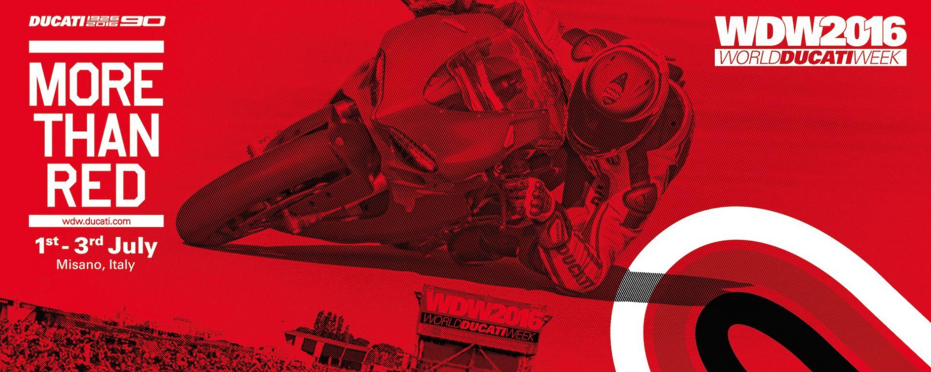 World Ducati Week 2016: dal 1 luglio si festeggia a Misano