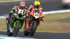 World SBK 2019, Alvaro Bautista (Ducati) vs Jonathan Rea (Kawasaki)