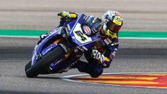 World SBK 2020, Test Superbike Aragon: Federico Caricasulo (Yamaha)