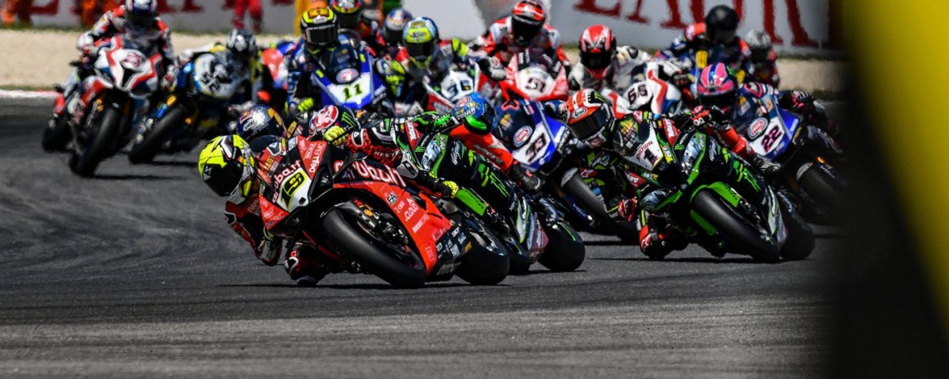 World Superbike 2019, partenza del Round di Misano