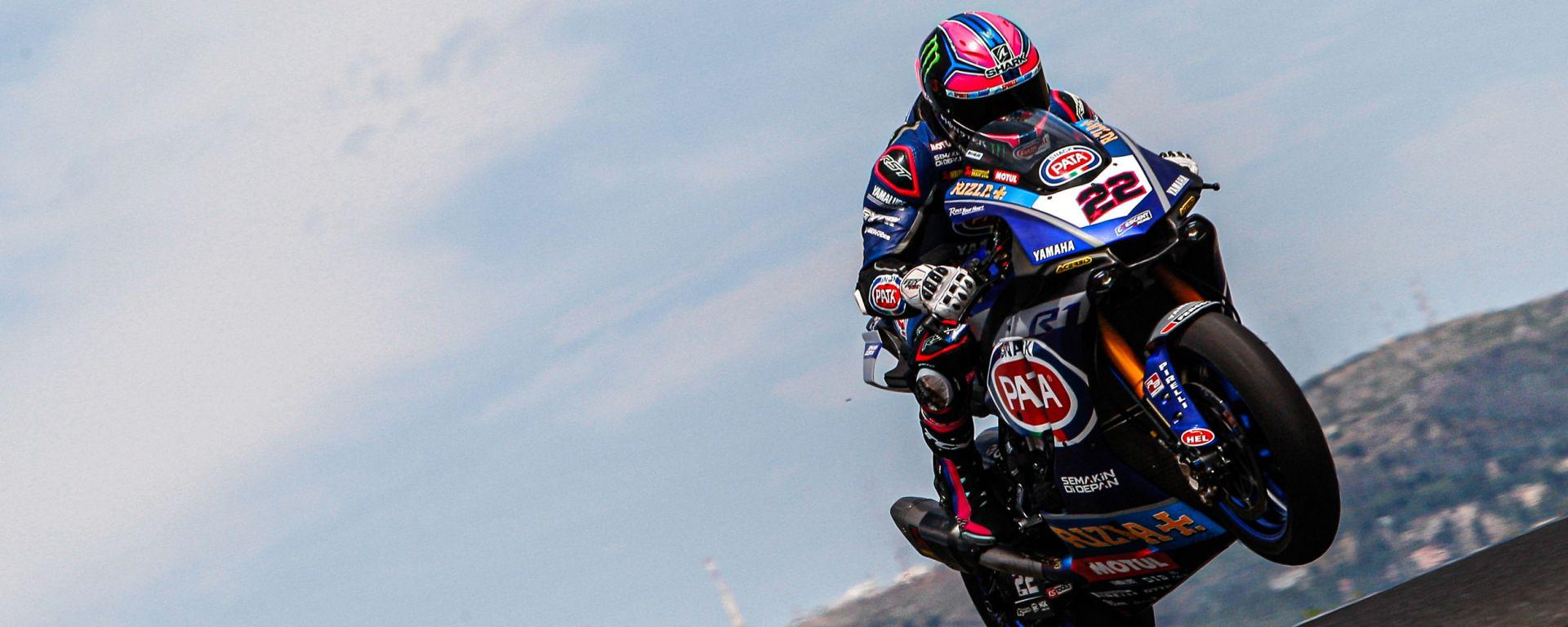 World Superbike 2019, Test Portimao, Alex Lowes (Yamaha)
