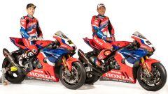 WorldSBK 2021: Alvaro Bautista e Leon Haslam, Honda HRC