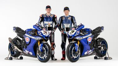 WorldSBK 2021: Garrett Gerloff e Kohta Nozane, GRT Yamaha