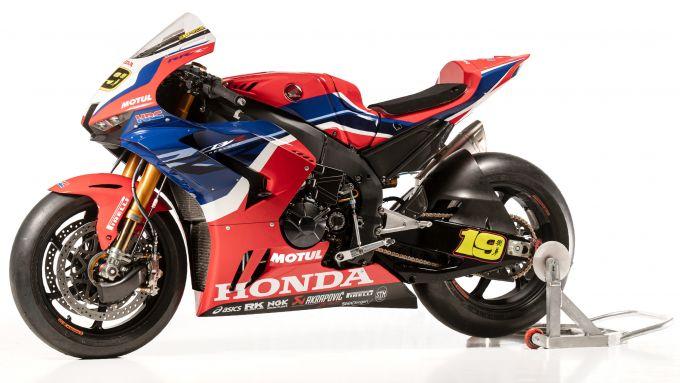 WorldSBK 2021: Honda CBR1000 RR-R Fireblade
